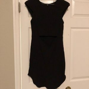 Free People ribbed Cotten fitted dress